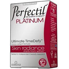 Vitabiotics Perfectil Platinum Skin Radiance Complexion 60 Tablets TimeDefy