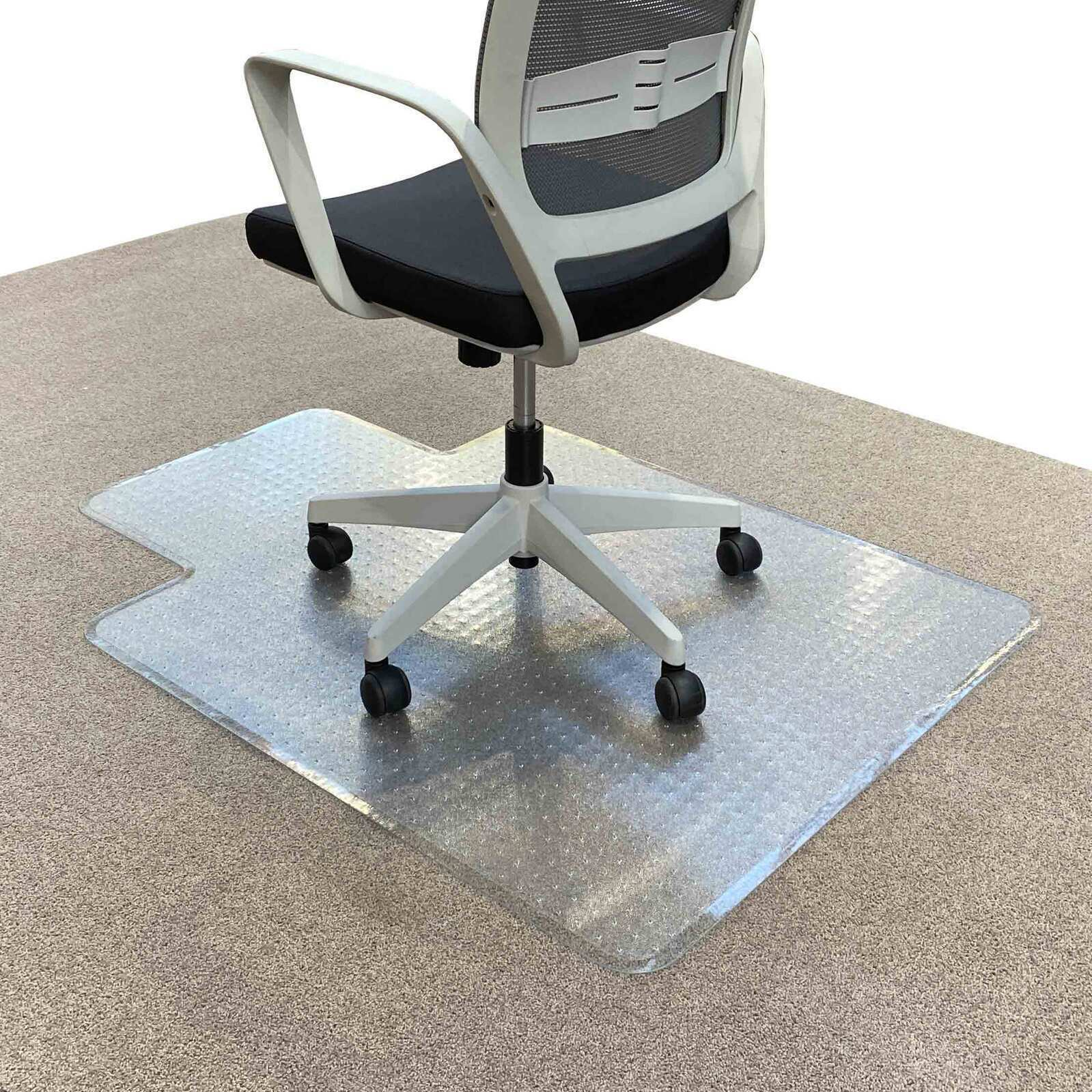 Picture of: New Rapidline Keyhole Office Chair Mat Carpet Floor Protector Small 1225 X 925 For Sale Online