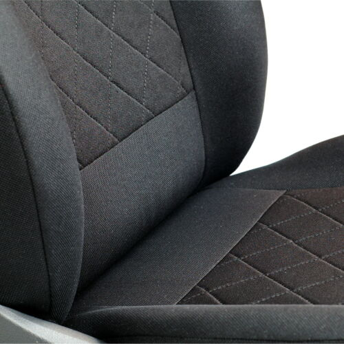 CAR SEAT COVER FOR AUDI A6 DRIVER SEAT DEEP BLACK