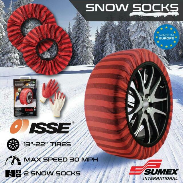 ISSE C60062 Classic Issue Snow Socks for Traction Size 62