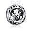 "925 Silber /""ABC/"" CHARM Buchstaben Armband Sterling kompatibel mit P Charms"