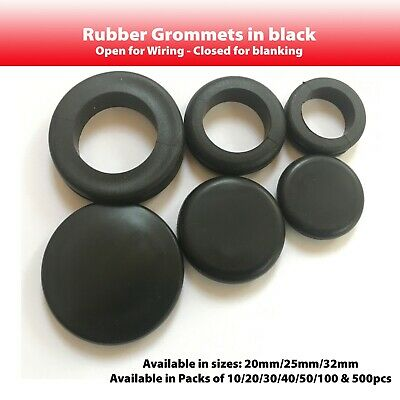 20mm 25mm Rubber Cable Grommets