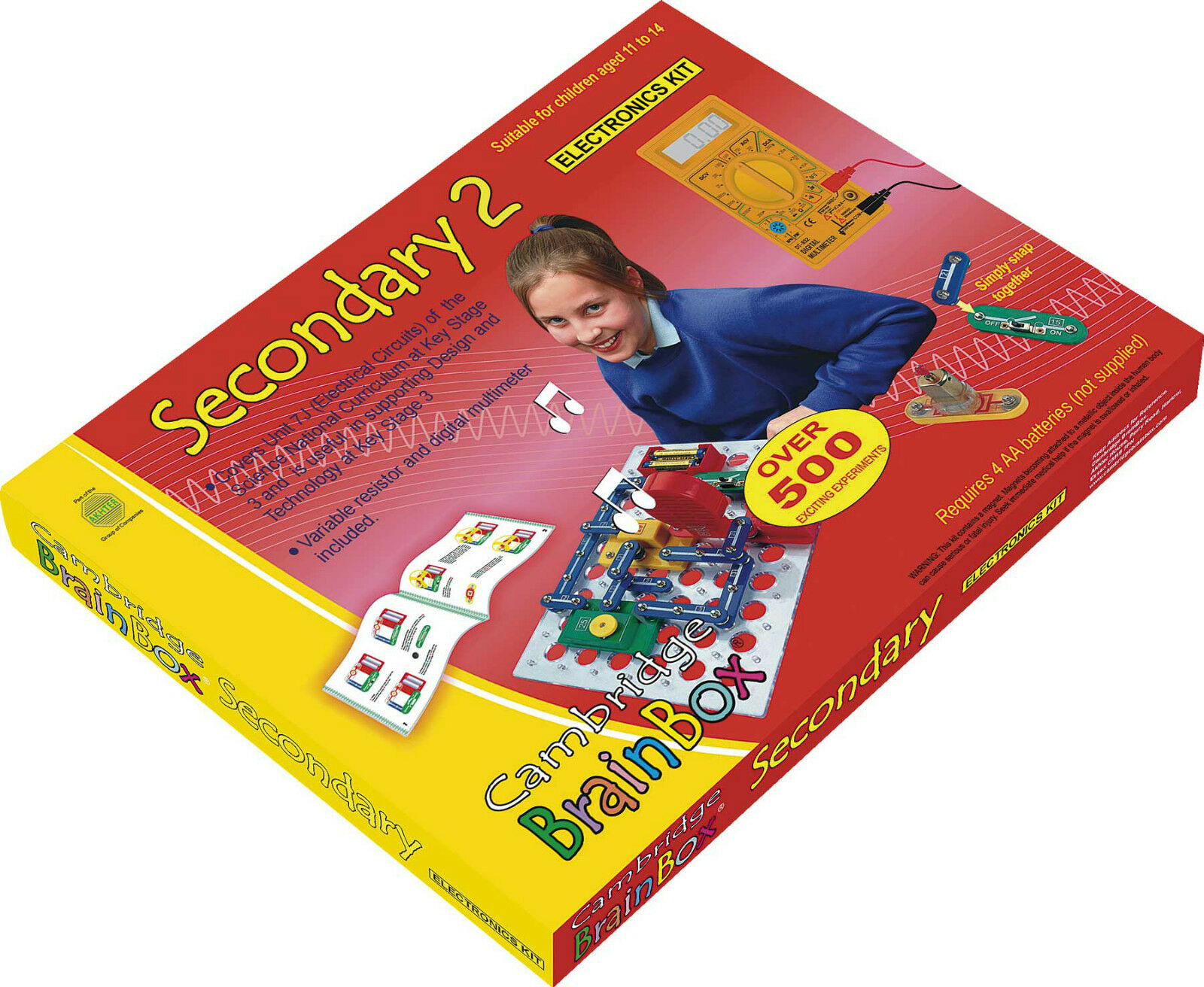 Cambridge Brainbox Secondary 2 Electronics Kit