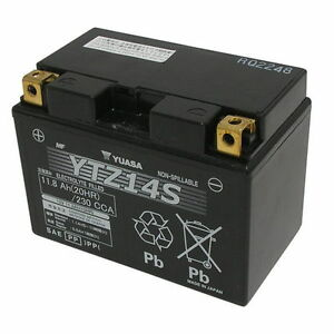Batterie-ORIGINAL-Yuasa-YTZ14-S-KTM-Supermoto-T-990-2007-2013