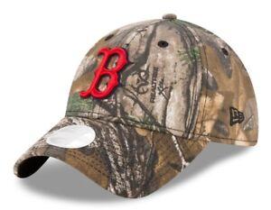 1da0ca96585c79 Boston Red Sox Women's New Era Realtree 9TWENTY Adjustable Hat | eBay