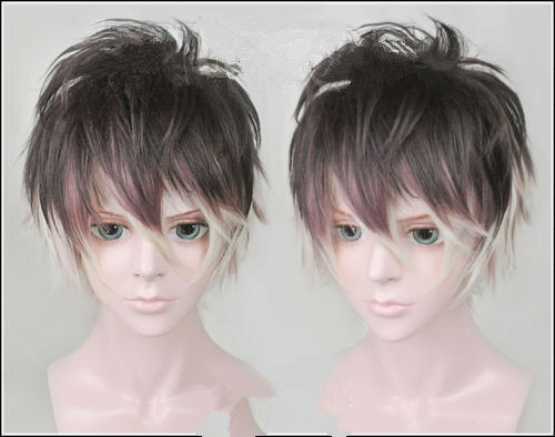 For Cosplay New DIABOLIK LOVERS Mukami Ruki Anime Cosplay  Party Wig+Wig Cap