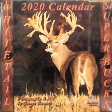 2020 DEER HUNTING CALENDAR TROPHY BUCKS whitetail bow hunting millennium stand