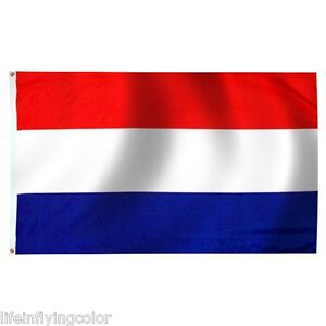 "NETHERLANDS SEWN NYLON 12X18"" FLAG HOLLAND DUTCH FLAG NEW ..."