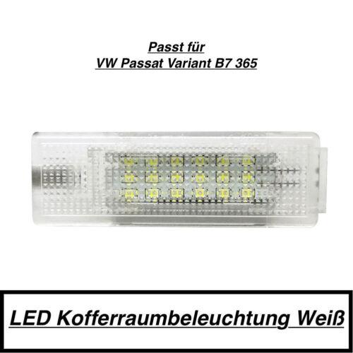 1x Led Module 18 SMD Boot Lighting VW Passat Variant B7 365 White 7406