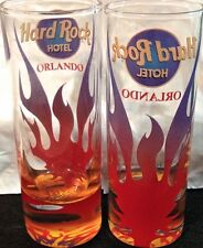 "Hard Rock Hotel ORLANDO 2018 4/"" SHOT GLASS V17 City Tee Shirt GLASSWARE CORDIAL"