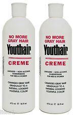 Clubman Youthair Creme for Men and Women Natural Color Gradually 2 - 16 oz.