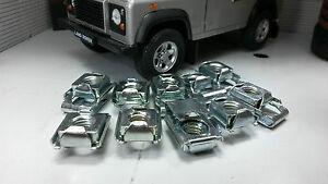 Land-Rover-Defender-asr1459-Acople-Bisagra-Metal-INTEGRADO-Aguja-Tuerca-Clip-X8