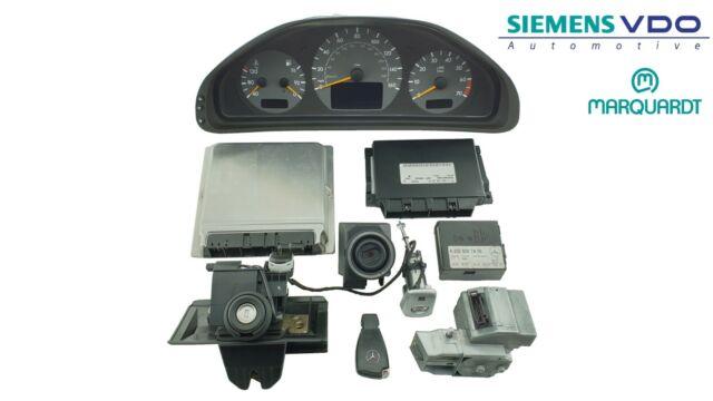 Mercedes CLK230 1997-2003 W208 ECU Kit with Lock Set A1111531979 A0305452032