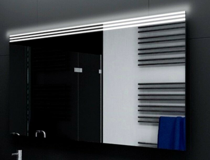 Badspiegel mit LED Beleuchtung Badezimmerspiegel Bad Spiegel Wandspiegel M130