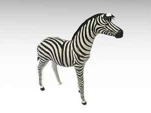 Painted-3-ft-decorative-zebra-2476L