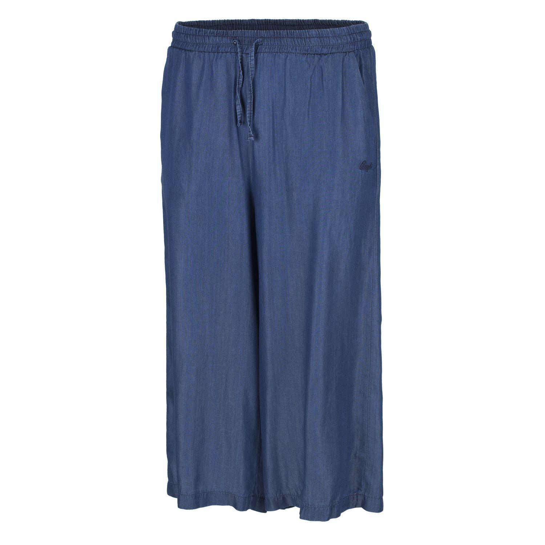 CMP Caprihose Sommerhose Freizeithose blue Tunnelzug Taschen