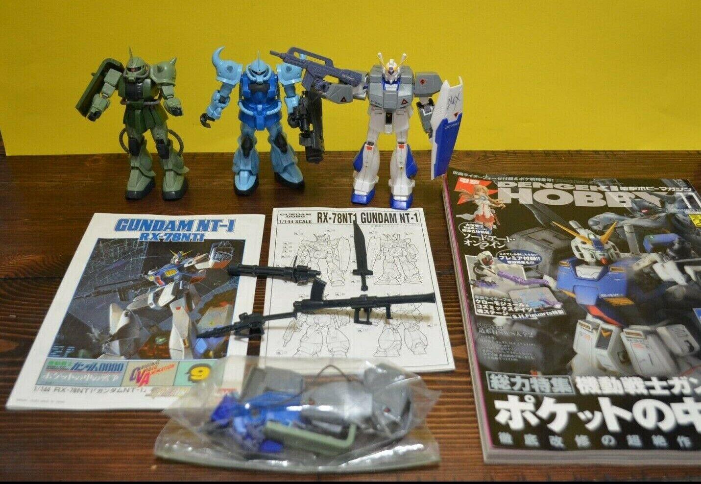1989 Beai Mobile Suit Gundam 0080 NT-1 RX-78NT1 modellololo  azione cifra Lot 1 144  risparmia il 60% di sconto e la spedizione veloce in tutto il mondo
