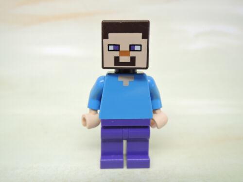 Lego Figur Minecraft Steve min009  21115 21114 21119 21120 21116