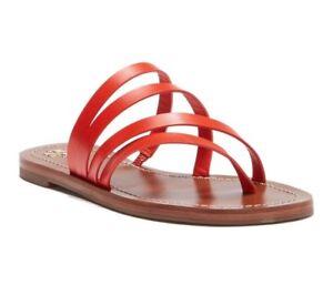 c5ebc950b NIB Tory Burch Women's Patos Flat Sandals Samba Red Size 6 $195   eBay