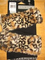 Parkhurst Bootbling Faux Fur Boot Toppers hyena Mara