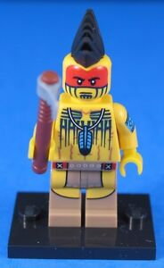 LEGO® Collectible Minifigures Series 10 TOMAHAWK WARRIOR #5 100% Official Lego