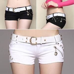 Casual Summer Women's Shorts Jeans Slim Fit  Short Pants Club Hot Shorts C89