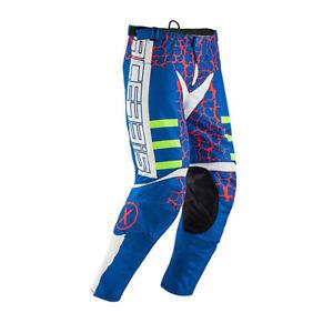 Acerbis 0022437.344.034 Pantalone MX Avenger Rosso/blu T.34