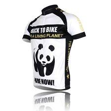 Panda Professional Cycling Bike Short Sleeve Clothing Bicycle Jersey Top Shirt