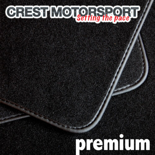 CITROEN C5 to 2008 PREMIUM Tailored Black Car Floor Mats