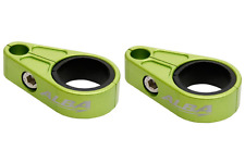 ATV brake line clamps Billet Aluminum Adjustable  Alba Racing  BLC 002 G