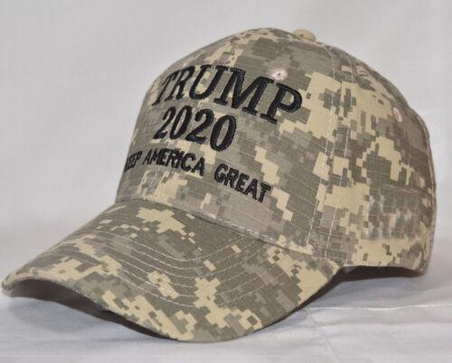 Trump 2020 Hat Digital Camo Keep America Great  Make America Great Again Cap Lot