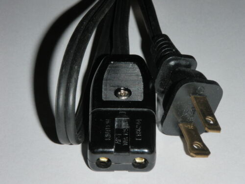 """Power Cord for Dominion Waffle Maker Iron Model 1226.1 1226.2 1//2/"""" 2pin 36/"""""""
