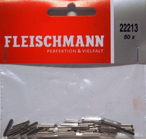 fishplates for N Gauge 1st Class Post Fleischmann 22213-50 x Rail Joiners
