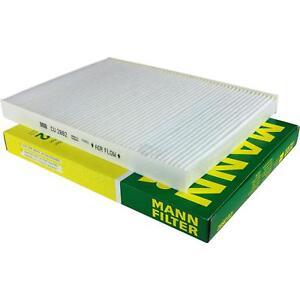 Espacio interior filtro filtro de polen Mann-Filter cu 22 004