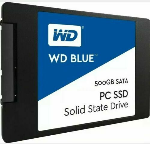 WD Blue PC SSD Solid State Drive (500 GB). Buy it now for 57.00