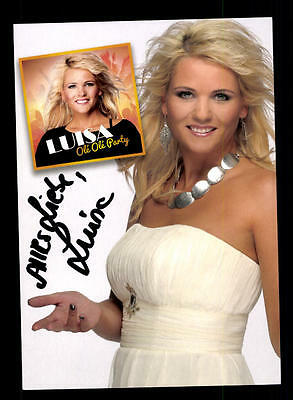 Original, Nicht Zertifiziert Autogramme & Autographen Luisa Autogrammkarte Original Signiert ## Bc 106356 äSthetisches Aussehen