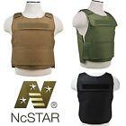 NcSTAR Lightweight Discreet Armor Plate Carrier Tactical SWAT Police Vest