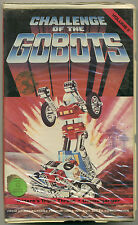 CHALLENGE OF THE GOBOTS VOLUME II (2); VHS 1985 Trident's Triple Threat