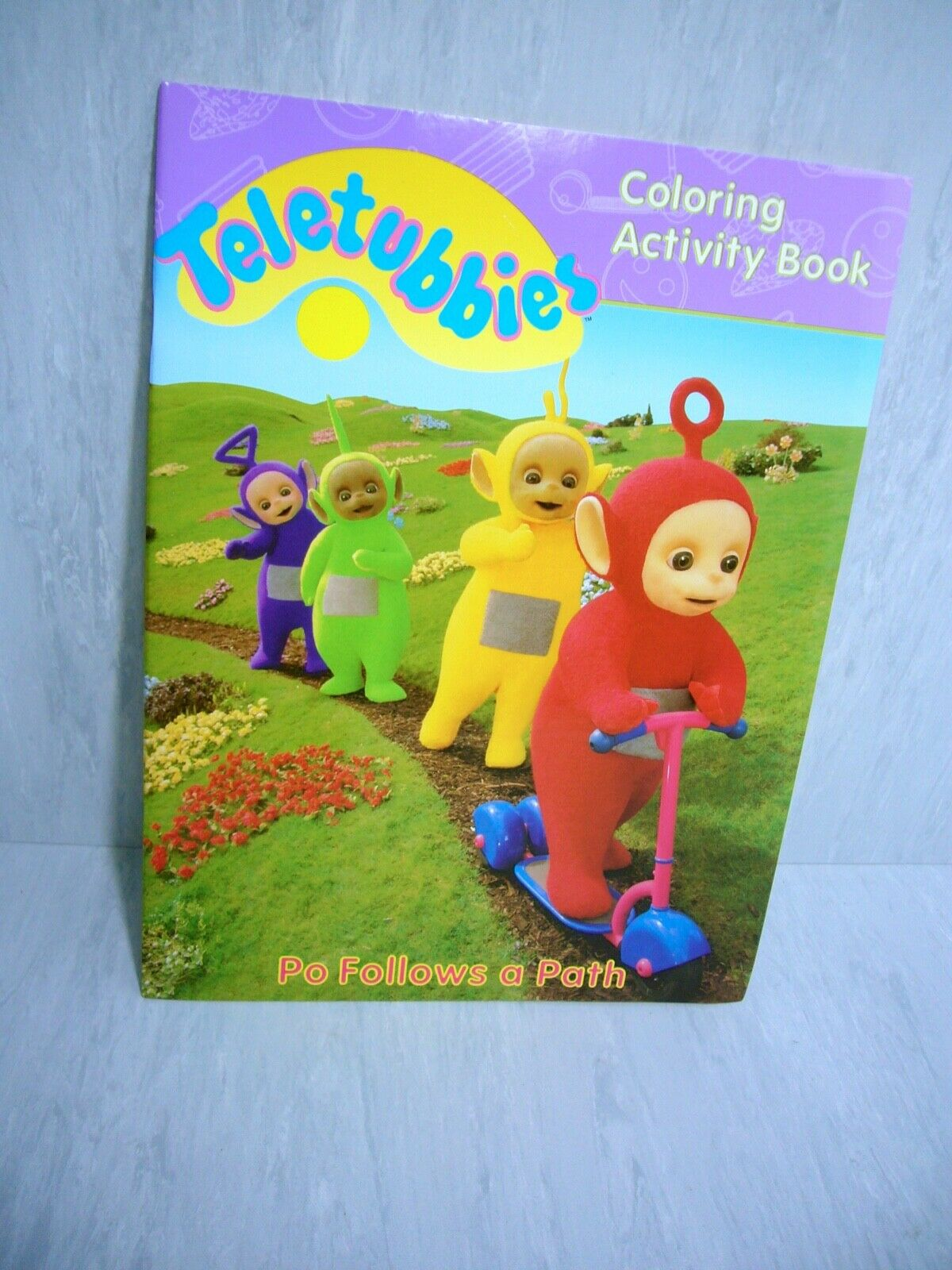 - Teletubbies Coloring Activity Book PO Follows A Path 1998 * For