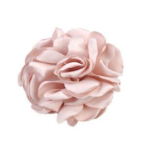 Women Rose Flower Elastic Bobbles Ponytail Holder Scrunchie Hair Bands MP