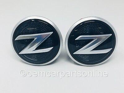 2009-2015 Nissan 370Z Left /& Right Fender Repeater Light Lamp Emblem Marker OEM