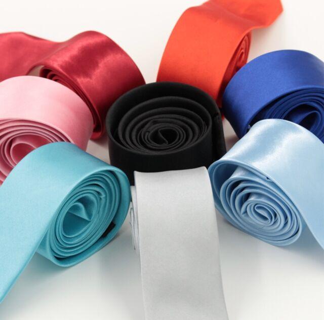 Handmade Plain Blush Satin Skinny Men/'s Tie Wedding Tie Slim Tie Prom Tie Thin