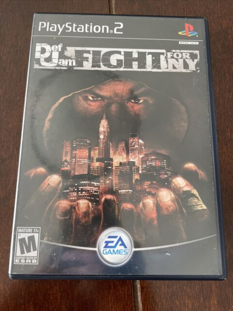 Def Jam Fight For NY PS2 CIB Black Label Tested, Working