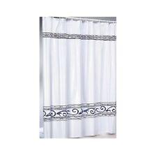 Eleganter Duschvorhang + Ringe 180x200 Vorhang Dusche Duschabtrennung  (396)