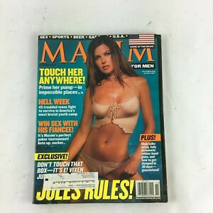 November-2001-Maxim-Magazine-Jules-Rules-Touch-Her-Anywhere-Hell-Week