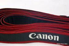 Canon Camera EOS Digital Camera Strap Original Genuine White  Red Grey