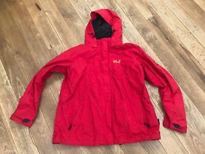 Details zu Jack Wolfskin Outdoor Jacke Damen rot Größe XXL46 48