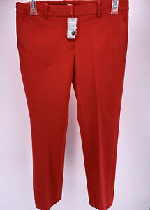 "NWT Brooks Brothers ""Red Fleece"" Women's Pants Red Size 10 NEW NOS"