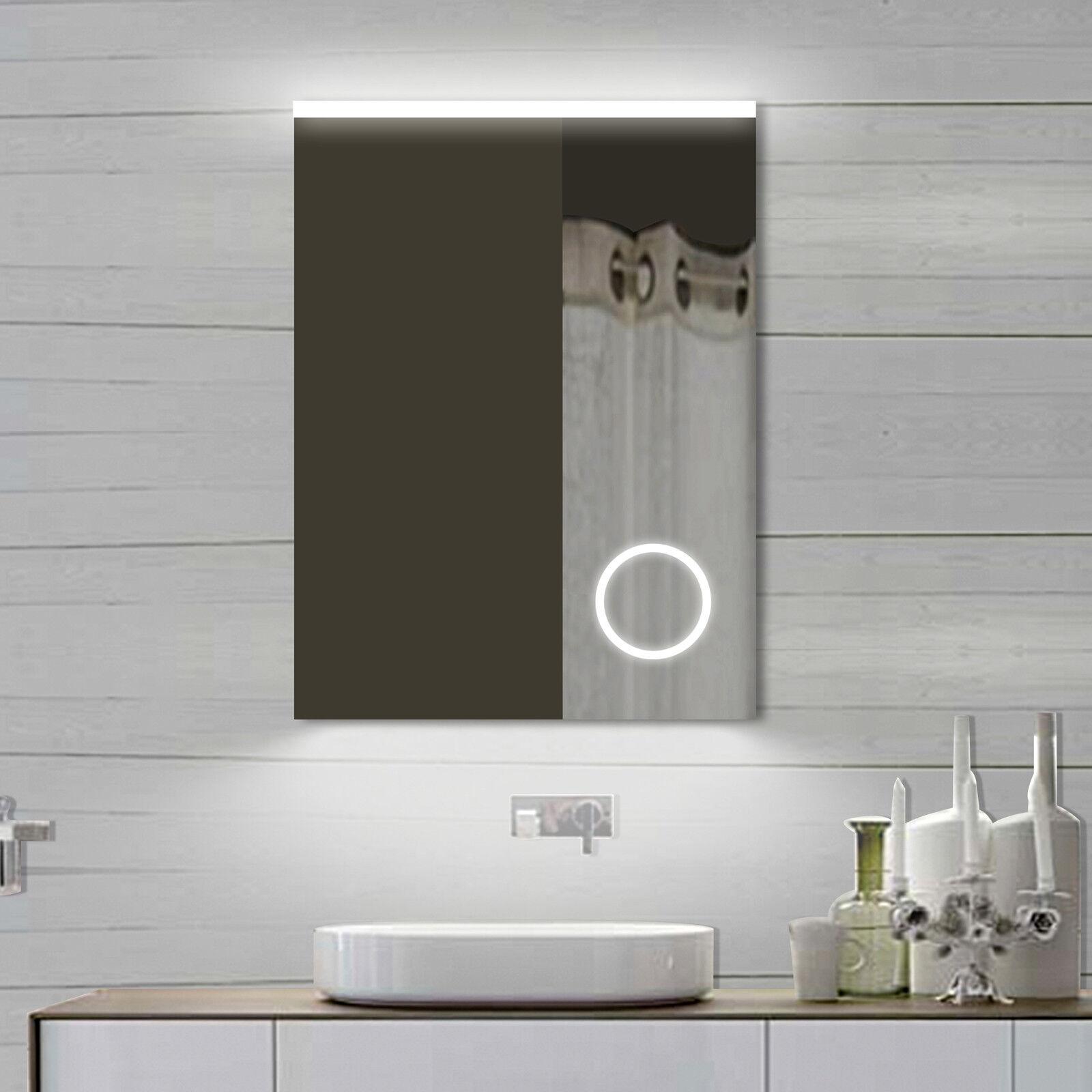 LED Beleuchtung Kalt Warm weiiß licht Wand Bad Badezimmer Schmink spiegel 62x80