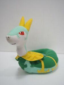 Serperior-Pokemon-Banpresto-2011-UFO-Plush-10-034-Stuffed-Toy-Doll-Japan